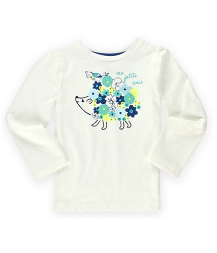 Gymboree Girls Ma Petite Amie Graphic T-Shirt 001 12-18 mos