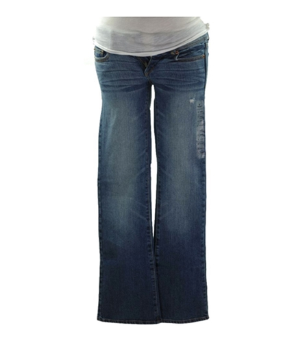 American Eagle Outfitters Womens Boot Faded Skinny Fit Jeans medium 00x34