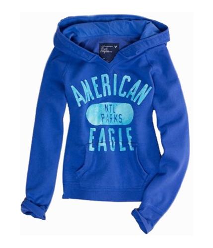 American Eagle Outfitters Womens Natl. Parks Hoodie Sweatshirt purple S