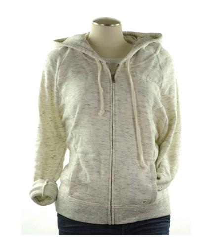 American Eagle Outfitters Womens Zip Up Hoodie Sweatshirt oatmeal XS