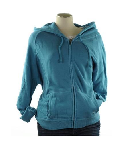 American Eagle Outfitters Womens Zip Up Hoodie Sweatshirt teal XS