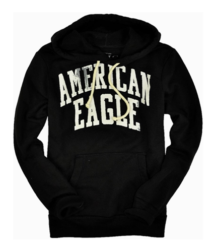 American Eagle Outfitters Mens Vintage Fit Hoodie Sweatshirt black S