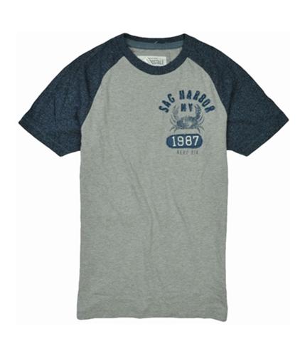 Aeropostale Mens Sag Harbor Ny 1987 Graphic T-Shirt lththrgray XS
