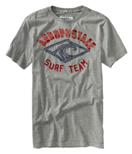 Aeropostale Mens Surf Team Graphic T-Shirt lththrgray M