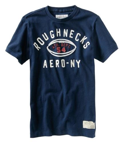 Aeropostale Mens Ath. Dept. 54 Football Graphic T-Shirt navyblue XS