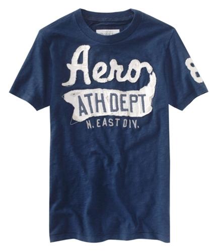 Aeropostale Mens Aero Ath Dept Graphic T-Shirt navyniblue XS