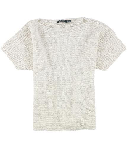 Ralph Lauren Womens Textured Knit Sweater