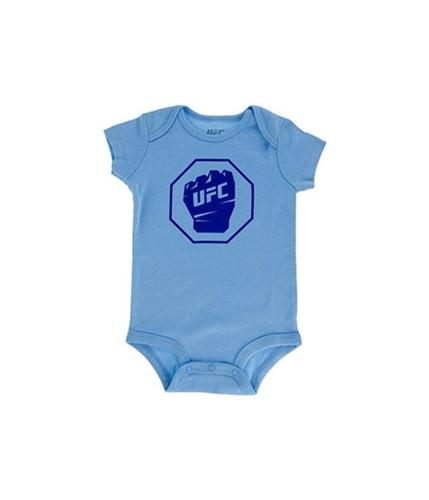 UFC Boys Fist Inside Logo Bodysuit Jumpsuit Pajama skyblue 12 mos