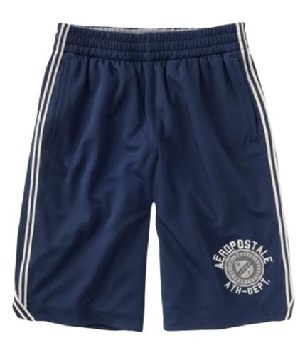 Aeropostale Mens Mesh Athletic Walking Shorts navyblue XS