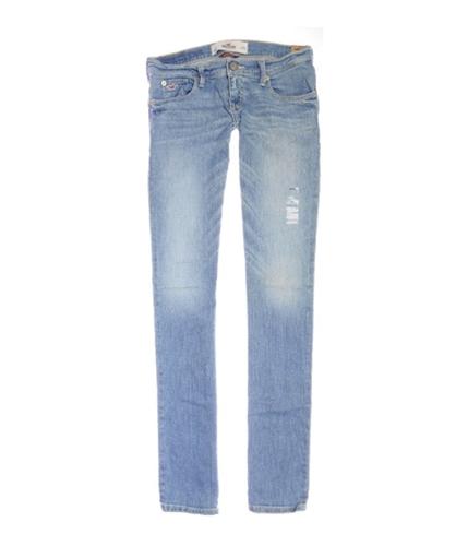 Hollister Womens Social Straight Leg Jeans light 0x32