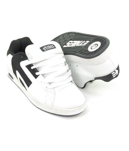 Etnies Mens Vengeance Skateboard Sneakers whiteblack 8.5