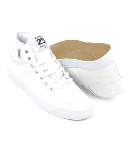 Etnies Mens Senix Mid Lx Skate Highop Sneakers white 11.5