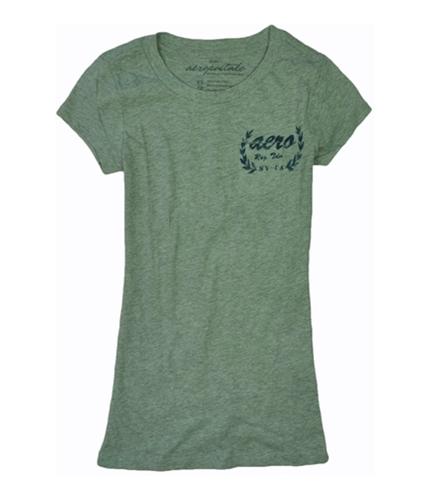 Aeropostale Womens Small Pocket Aero Basic T-Shirt lththrgray XS