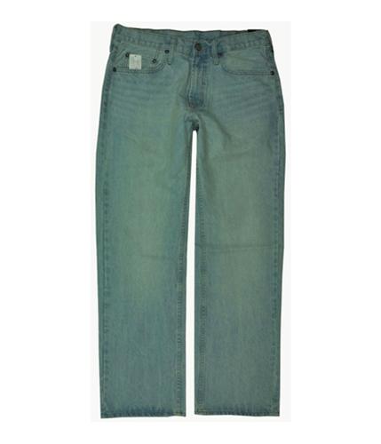 Bullhead Denim Co. Mens Pensky Blue Straight Leg Jeans light 29x30