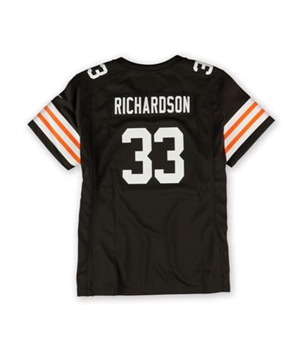 NFL Team Apparel Womens Cleveland Browns Richardson Jersey 244 M