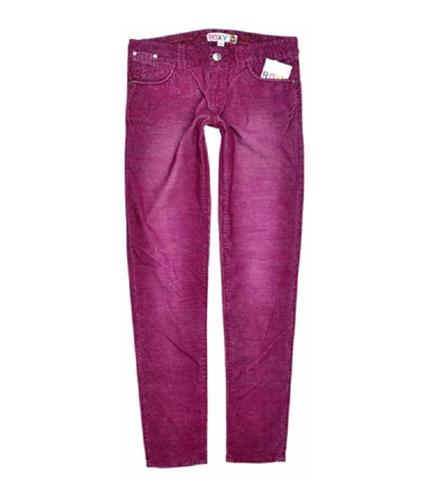 Roxy Womens Bodacious Casual Corduroy Pants darkpink 5x32