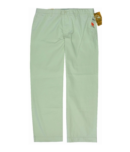 Quiksilver Mens Flat Front Casual Chino Pants lightbeige 34x30
