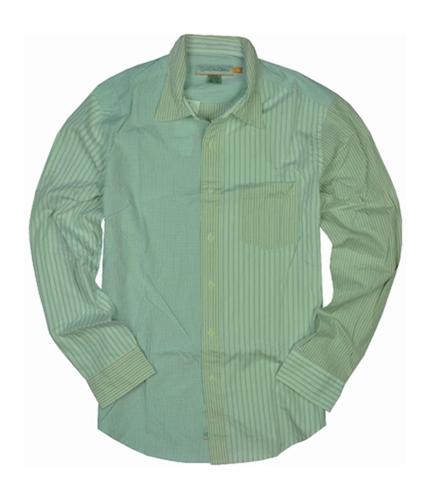 Quiksilver Mens Stripepocket Button Up Shirt celblue M