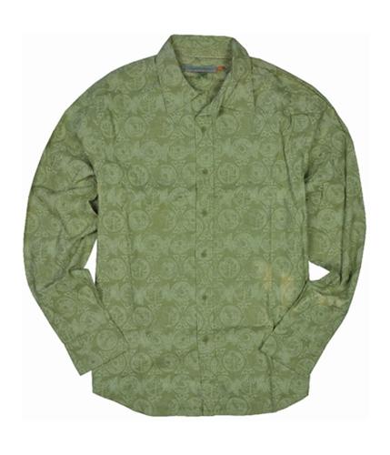Quiksilver Mens Pocket Button Up Shirt bambrown M