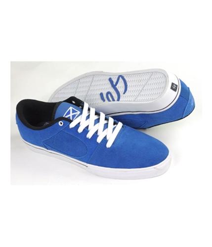 es Mens By Etni Square Two Skateboard Sneakers royal 13