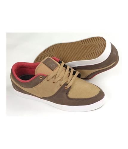 es Mens By Etni La Brea Skateboard Sneakers brownmarron 14