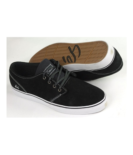 es Mens By Etni Edward Skateboard Sneakers blacknoir 11.5