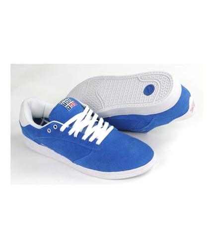es Mens By Etni Ecosse Skateboard Sneakers royal 12