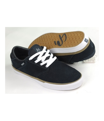 es Mens By Etni Edgar Skateboard Sneakers navybleumarine 11.5
