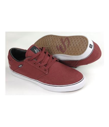 es Mens By Etni Edgar Skateboard Sneakers maroonburgundy 14