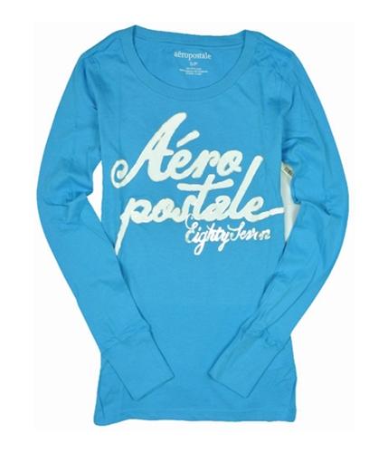 Aeropostale Womens Eighty Seven Graphic T-Shirt mediumblue XS