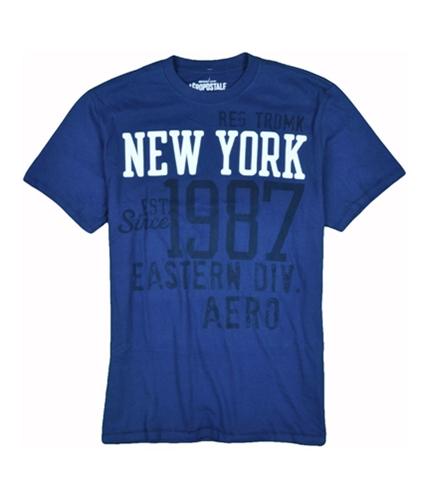 Aeropostale Mens New York Graphic T-Shirt deepblue XS