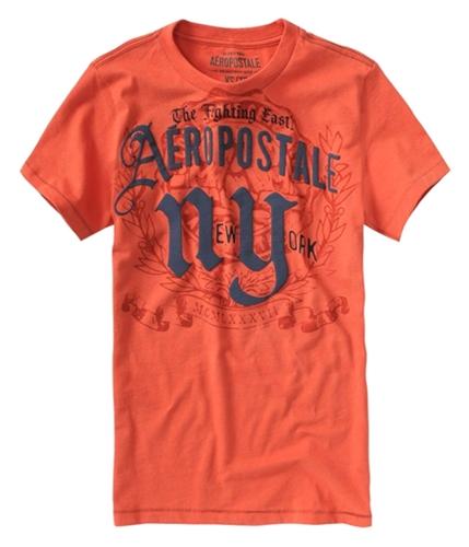 Aeropostale Mens Fighting East Graphic T-Shirt brtora L