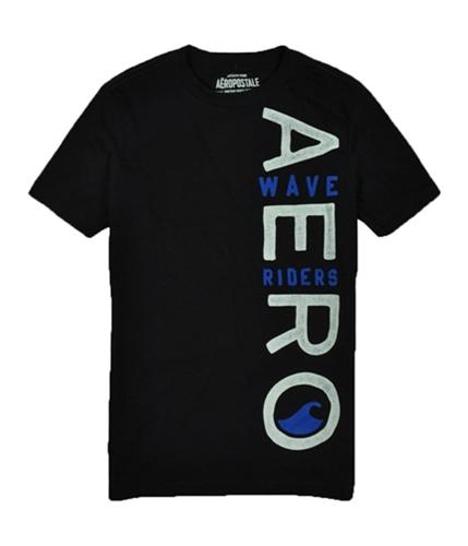 Aeropostale Mens Ath-dept Graphic T-Shirt black XS