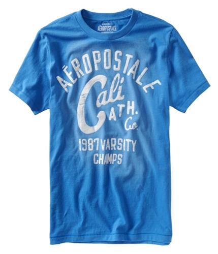 Aeropostale Mens Cali Ath. Graphic T-Shirt heavenlyblue L