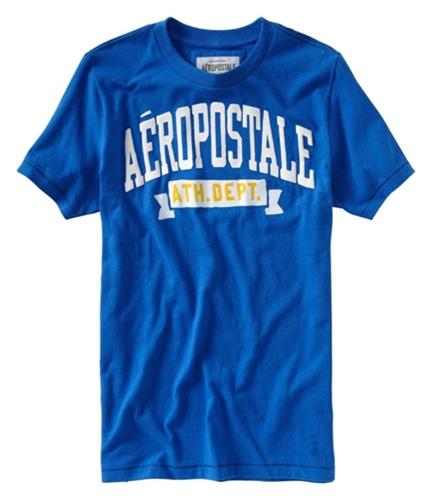 Aeropostale Mens Ath Dep Graphic T-Shirt activeblue XS