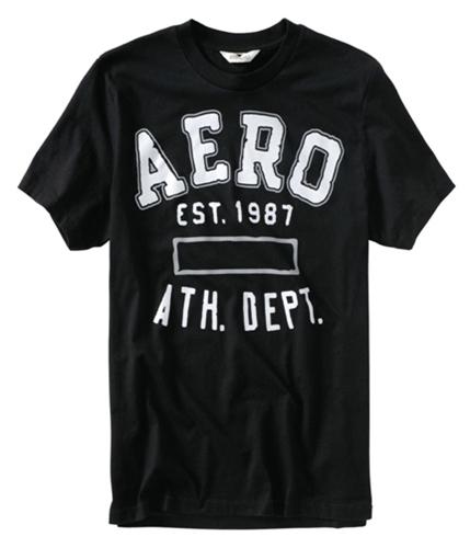 Aeropostale Mens Ath. Dept. Graphic T-Shirt black XS