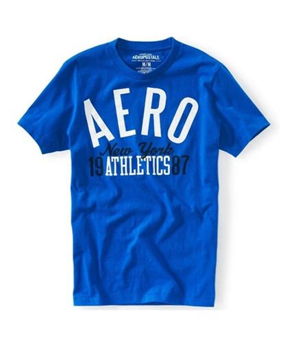 Aeropostale Mens New York Athletics Graphic T-Shirt activeblue XS