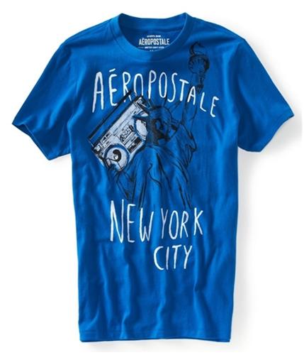 Aeropostale Mens Nyc Attitude Graphic T-Shirt active XS
