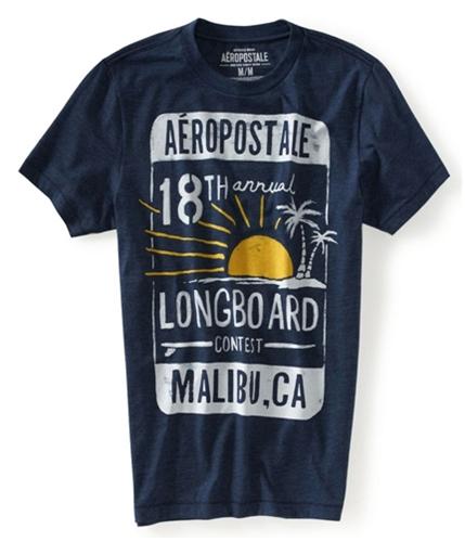 Aeropostale Mens Contest Graphic T-Shirt 413 M