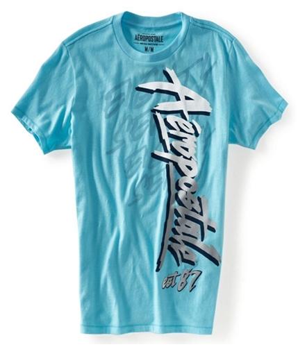 Aeropostale Mens Aero Graphic T-Shirt 444 L