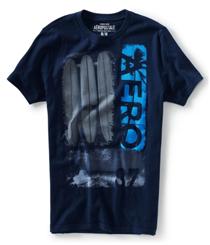 Aeropostale Mens Aero 87 Surf Graphic T-Shirt 413 M