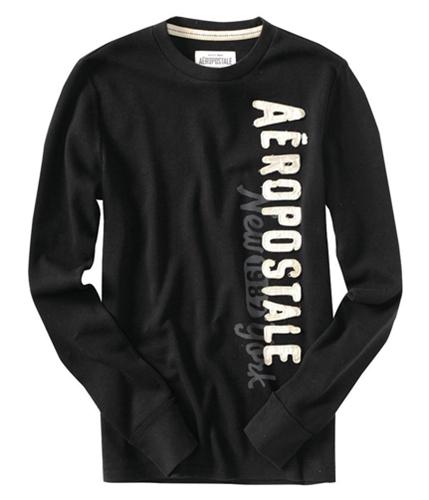 Aeropostale Mens Hermal Sweatshirt black XS