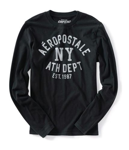 Aeropostale Mens Athletic Dept Graphic T-Shirt black XS