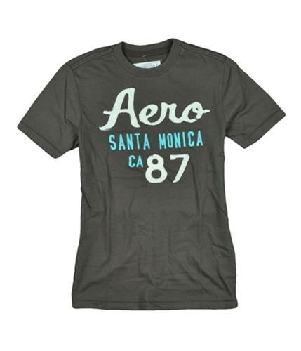 Aeropostale Mens Aero So. Cal Graphic T-Shirt burntsbrown XS