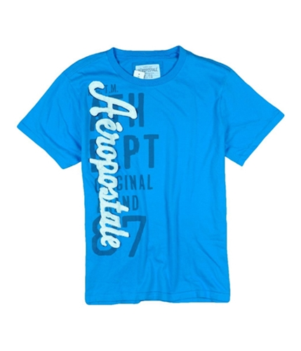 Aeropostale Mens Ath Dept Embroidered Graphic T-Shirt bahamaaqua XL