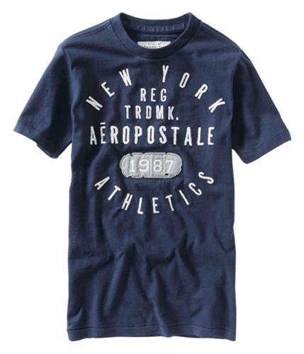 Aeropostale Mens New York Reg 1987 Graphic T-Shirt navynightblue L