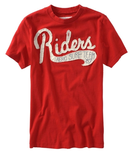 Aeropostale Mens Riders Surf Team T Graphic T-Shirt autumnred XS