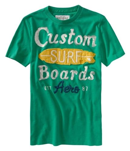Aeropostale Mens Custom Surf Graphic T-Shirt spearmintgreen XS