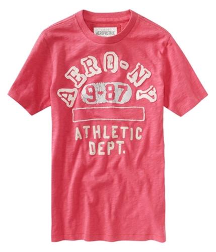 Aeropostale Mens Aero Ny 987 Graphic T-Shirt applered XS