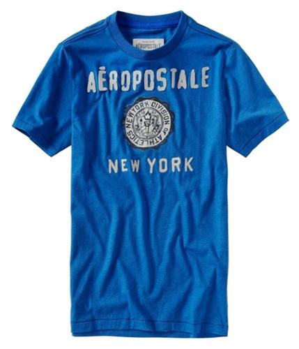 Aeropostale Mens Embellished Graphic T-Shirt activeblue XS